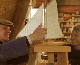 Cursus zeilbootje bouwen