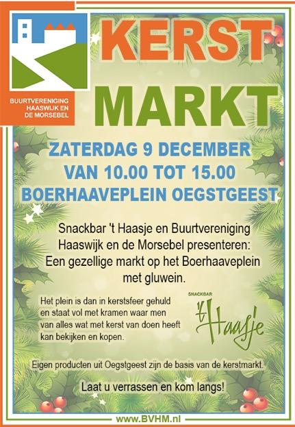 Kerstmarkt op Boerhaaveplein