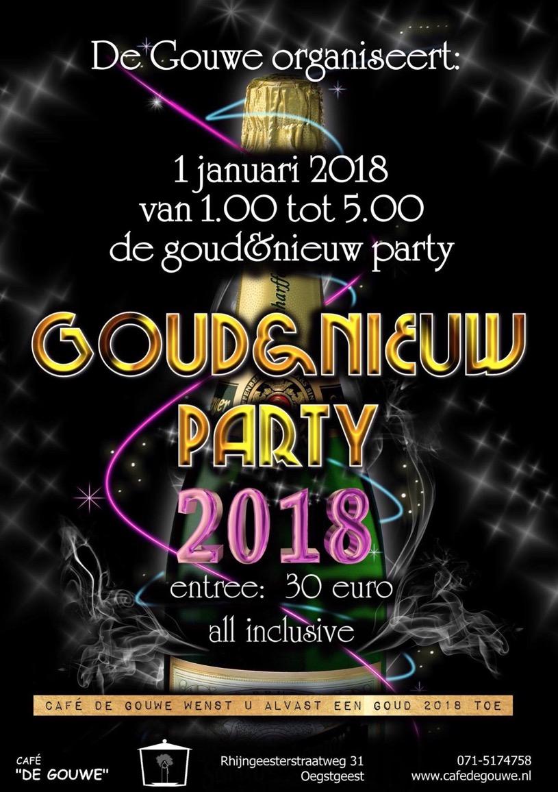 GOUD & NIEUW PARTY @ De Gouwe