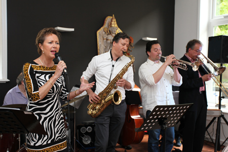 Jazz bij Brasserie Streeder