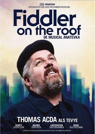 Inschrijven: Musicalreis Fiddler o/t Roof