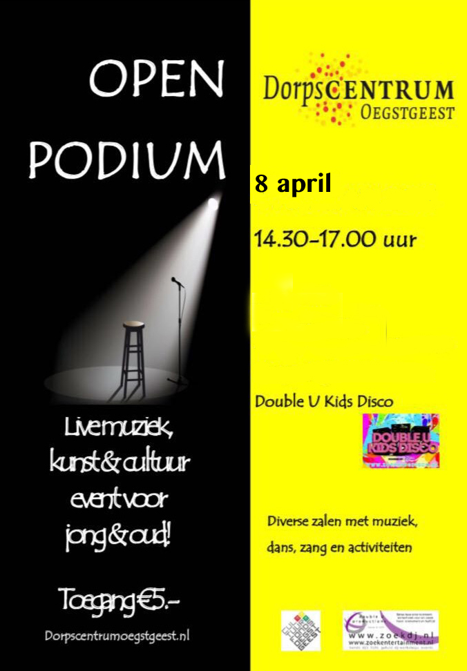 Open Podium Dorpscentrum