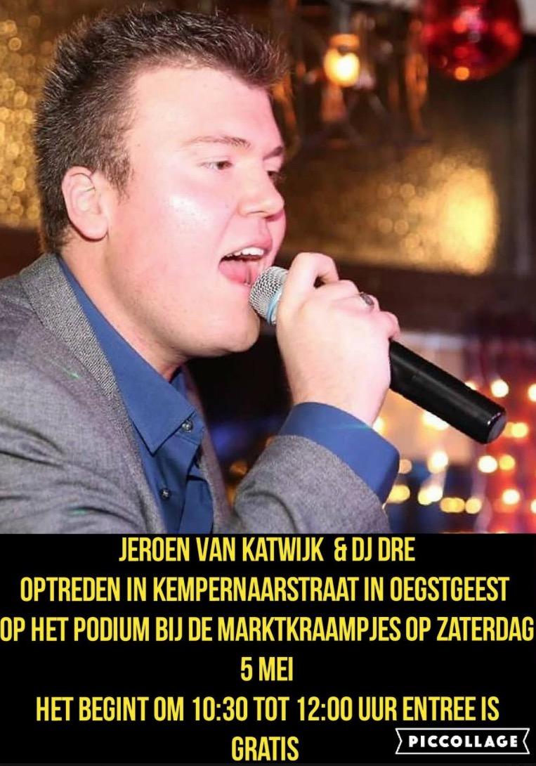 Jeroen van Katwijk op jaarmarkt