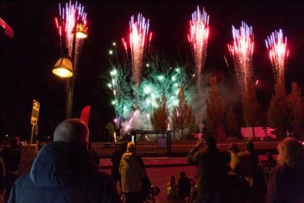 Vuurwerkshow Irispark