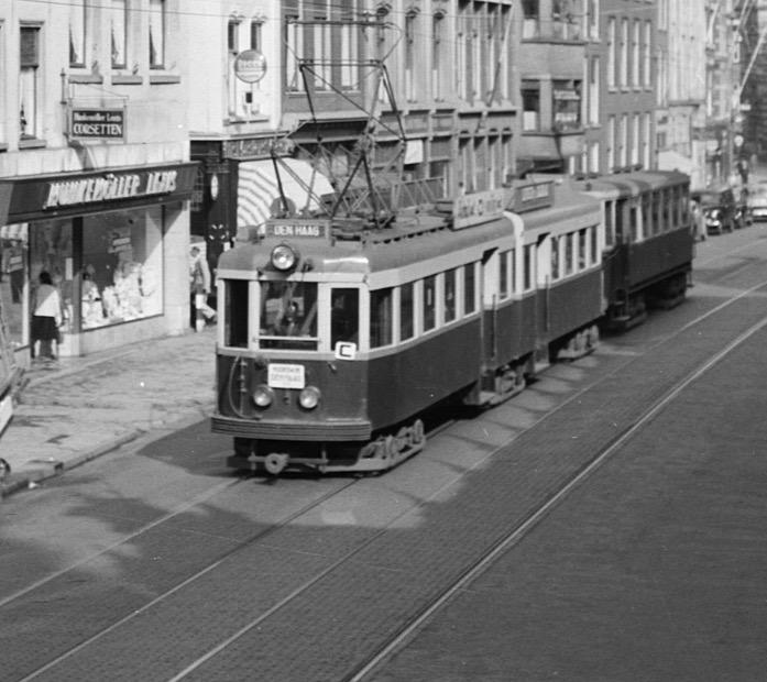 Bouw replica Blauwe Tram