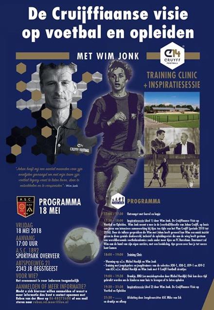 Wim Jonk bij ASC