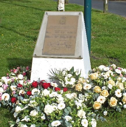 Herdenking bij Halifax-monument
