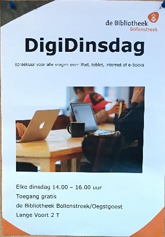 Bibliotheek: DigiDinsdag