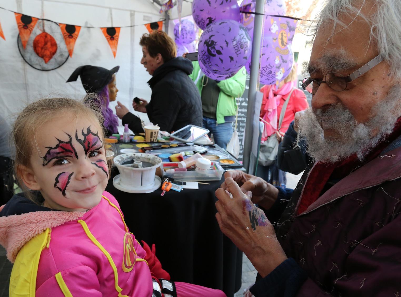 Halloween in De Kempenaerstraat