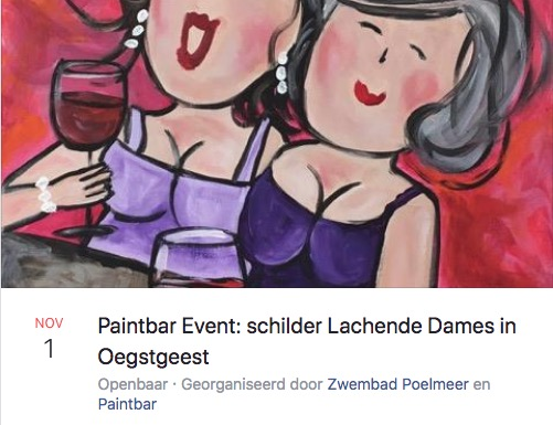 Paintbar Event in Poelmeer