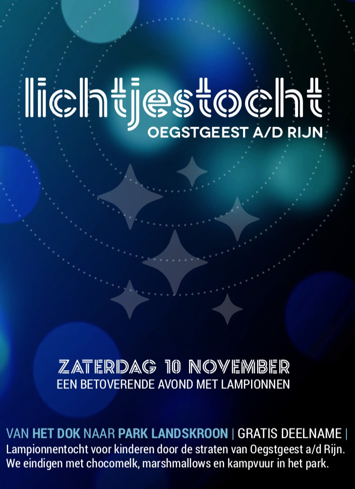 Lichtjestocht Oegstgeest a/d Rijn