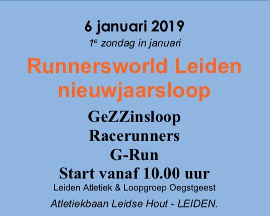 Runnersworld nieuwjaarsloop