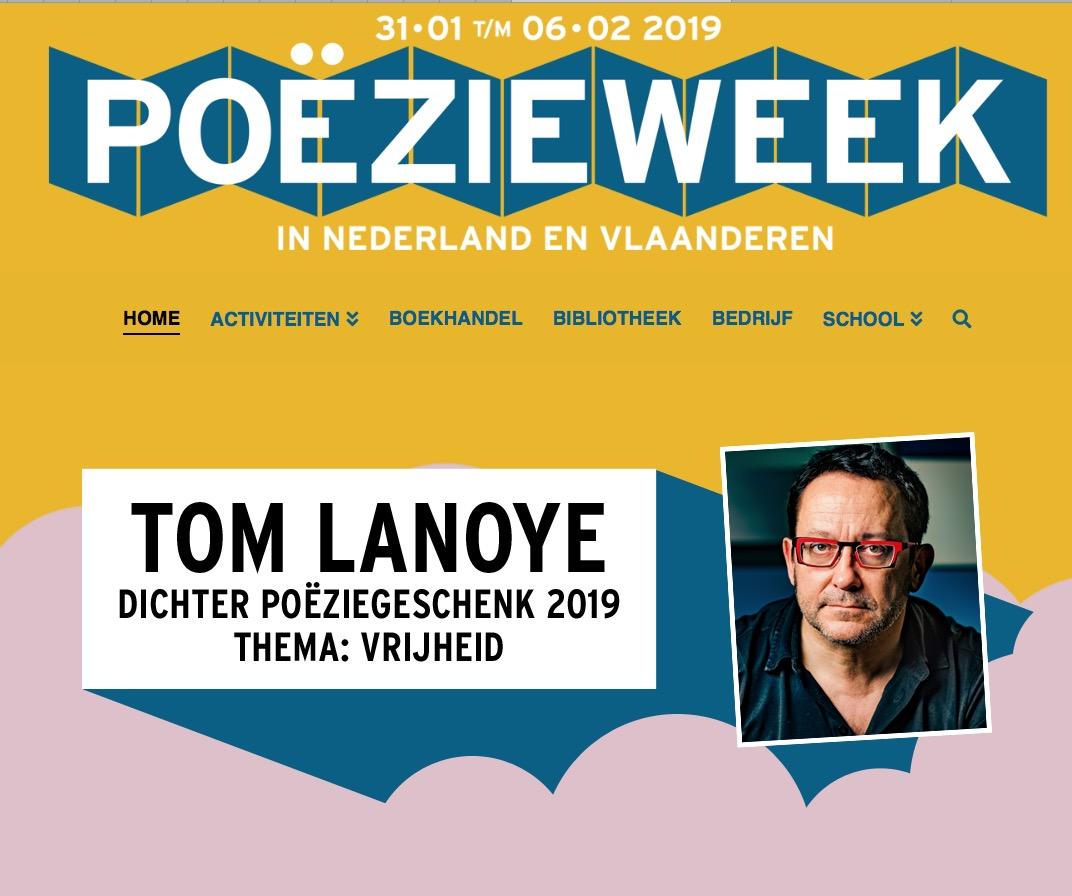Poëzieweek 2019 t/m 6 februari