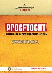 Proeftocht, culinaire bierwandeling