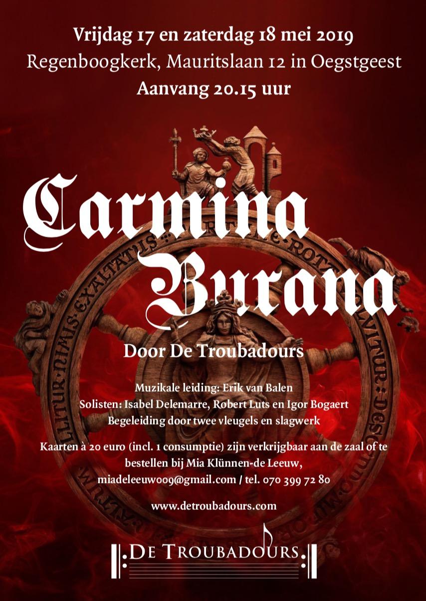 Troubadours met Carmina Burana