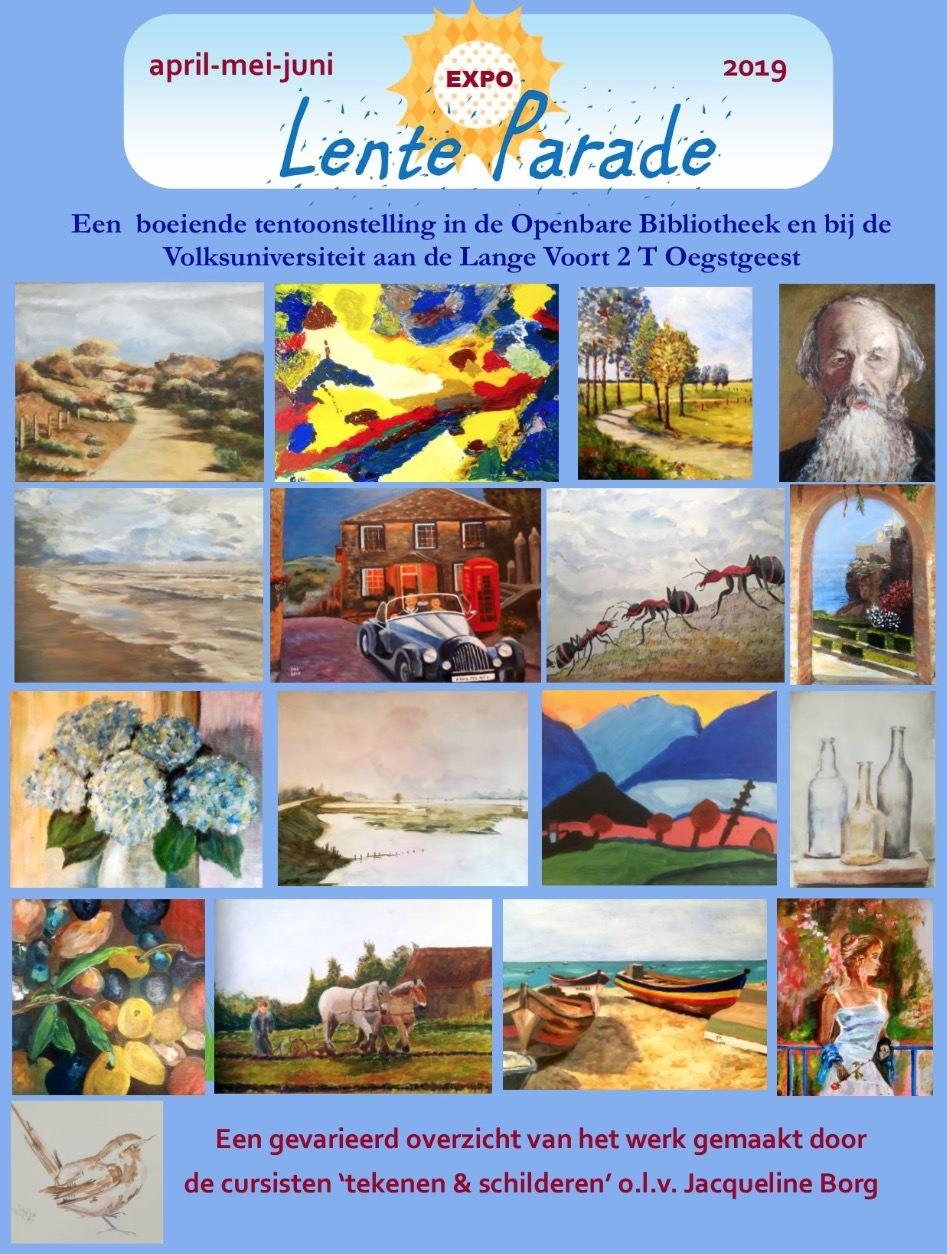 Bibliotheek: Lente parade t/m 30-6