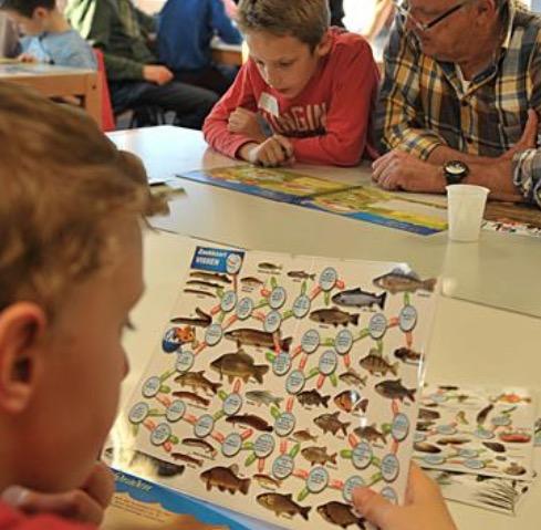 Cursus vissen voor kids IJsclub Warmond