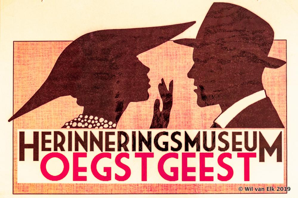 Vitrine Herinneringsmuseum t/m 3-12