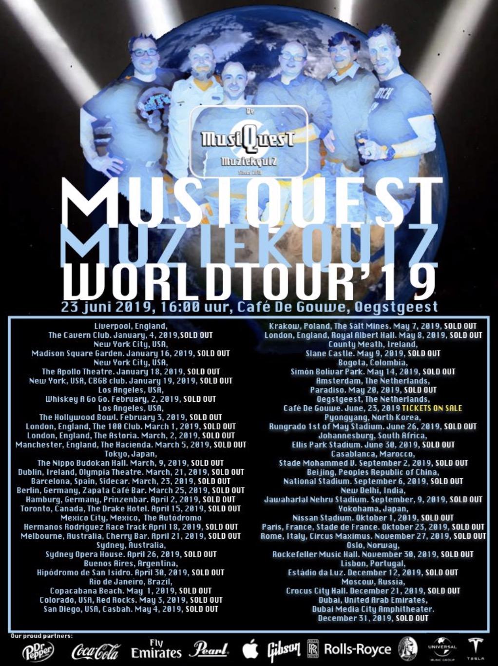MusiQuest Worldtour in De Gouwe