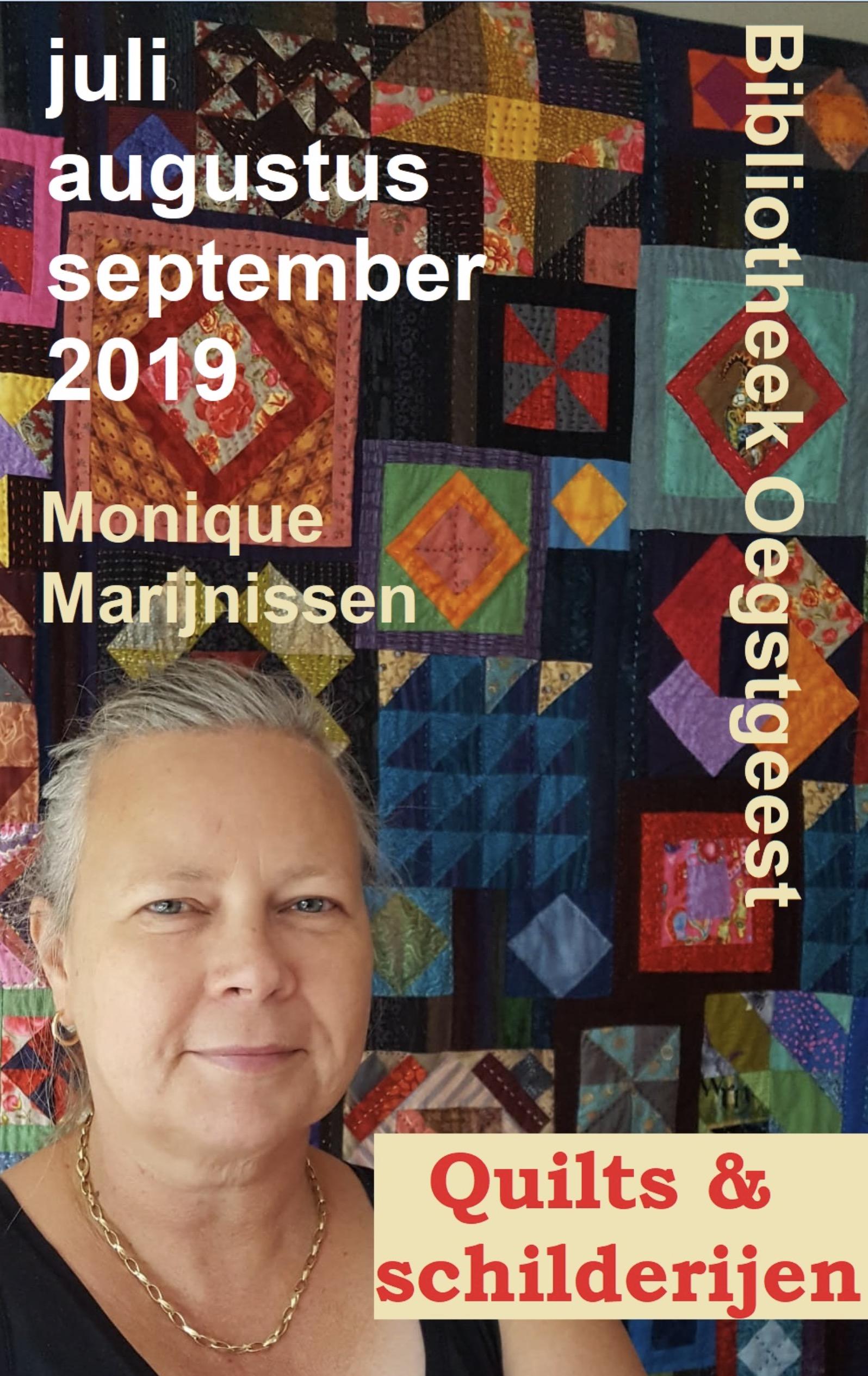 Quilts, schilderijen en kalligrafie t/m 30-9