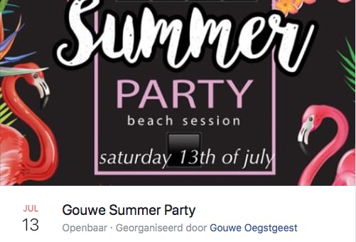 Gouwe Summer Party
