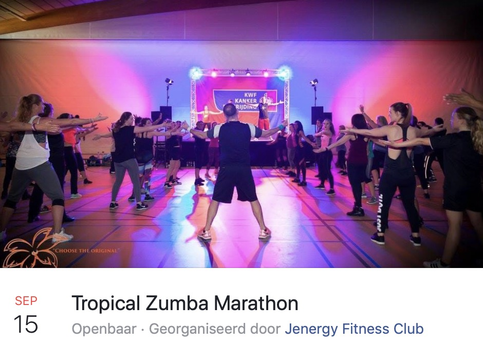 Tropical Zumba Marathon
