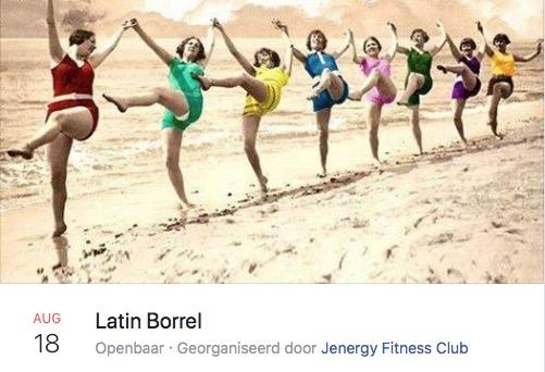 Latin Borrel bij Jenergy