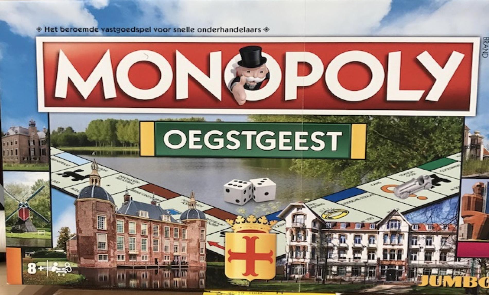 Spaaractie Monopoly Oegstgeest
