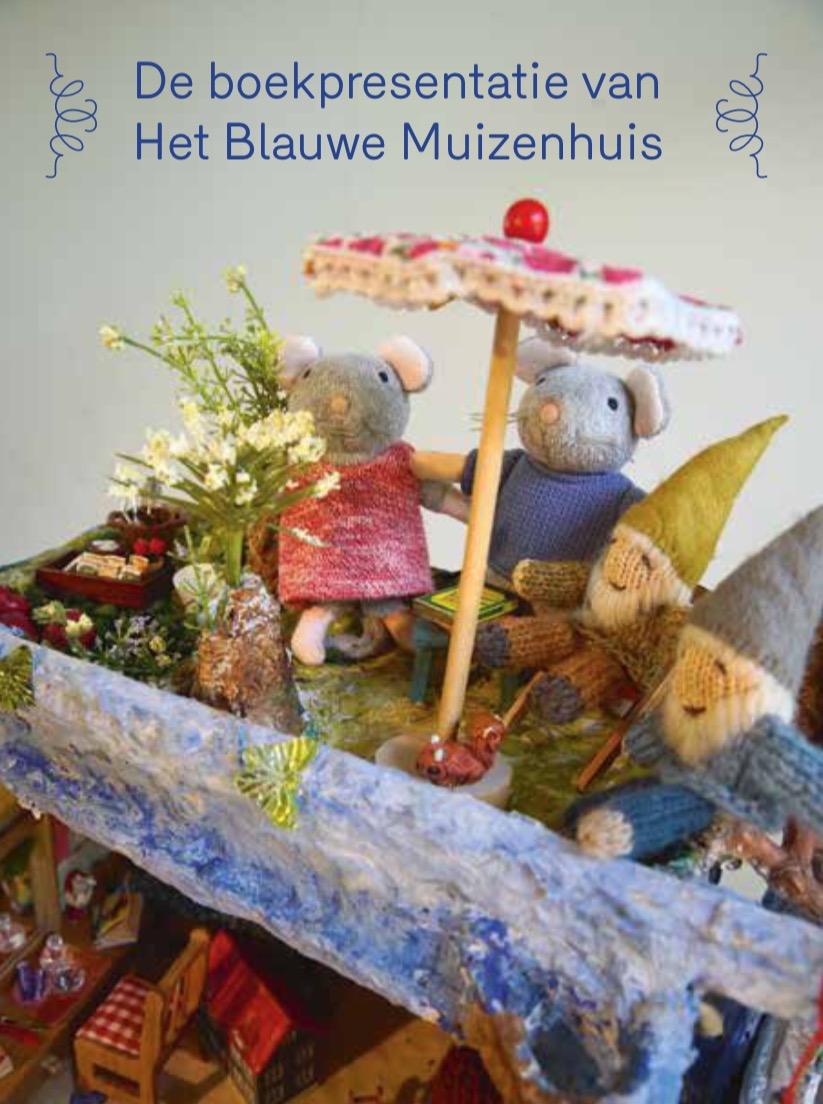 Boekpresentatie Blauwe Muizenhuis