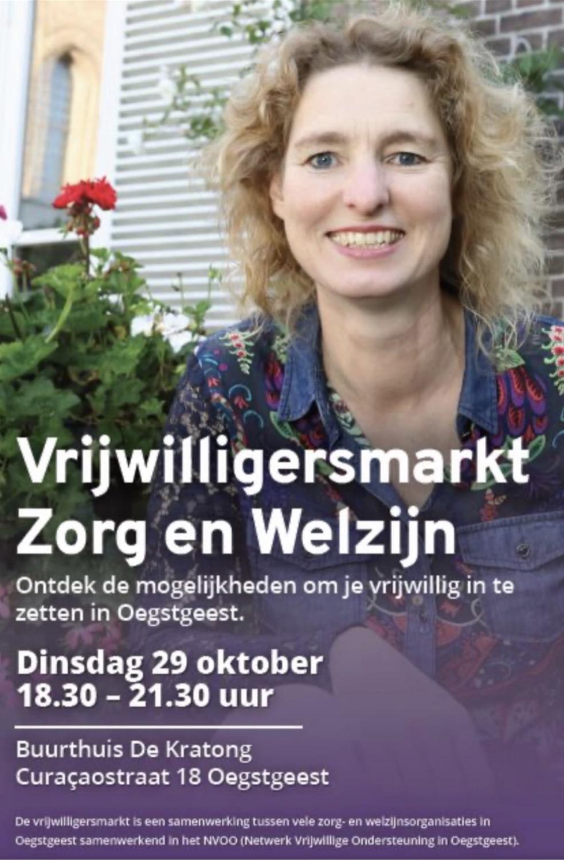 Vrijwilligersmarkt Zorg en Welzijn