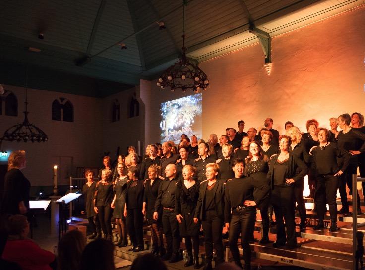 Het Katwijkse koor Voice of Joy