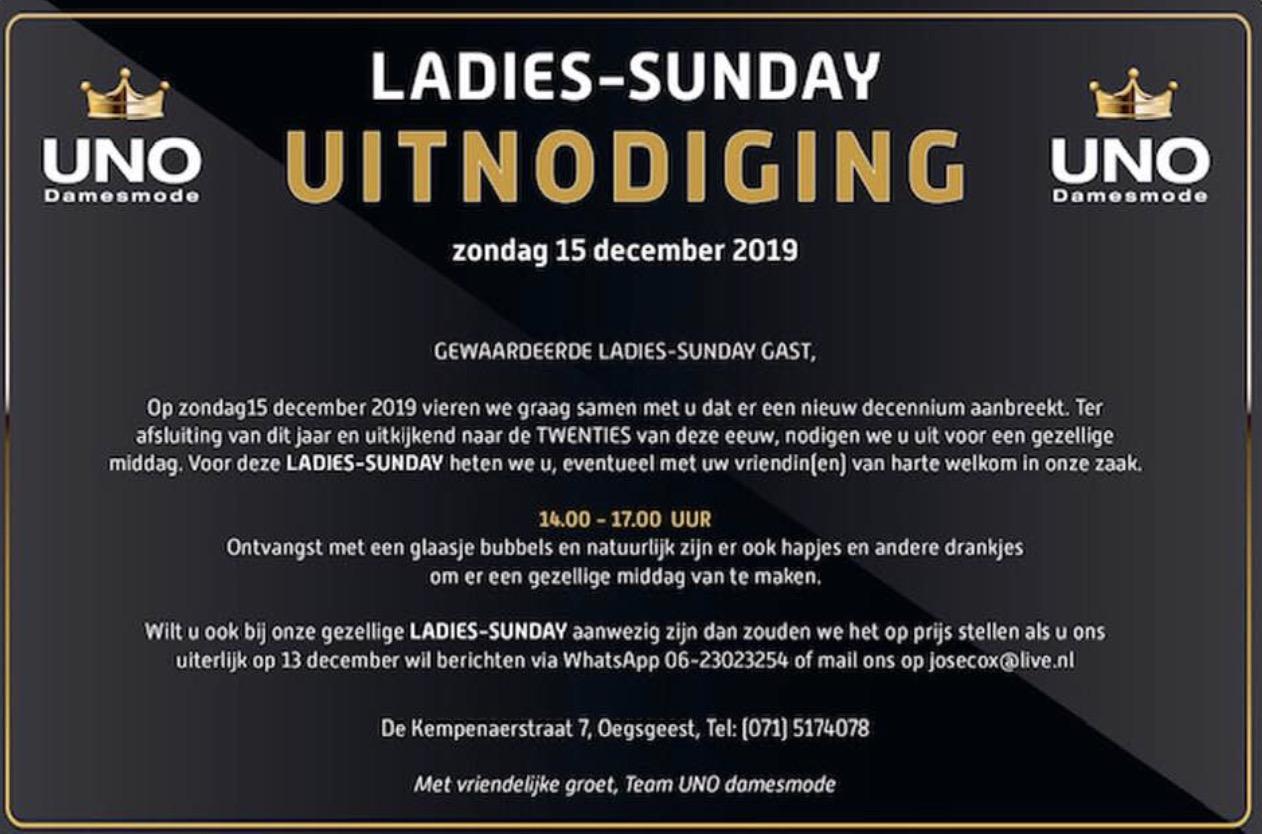 UNO Ladies-Sunday