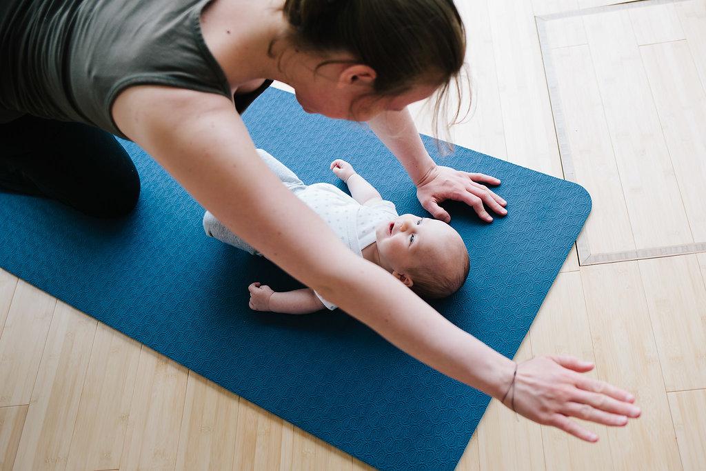 Moeder-baby yoga cursus