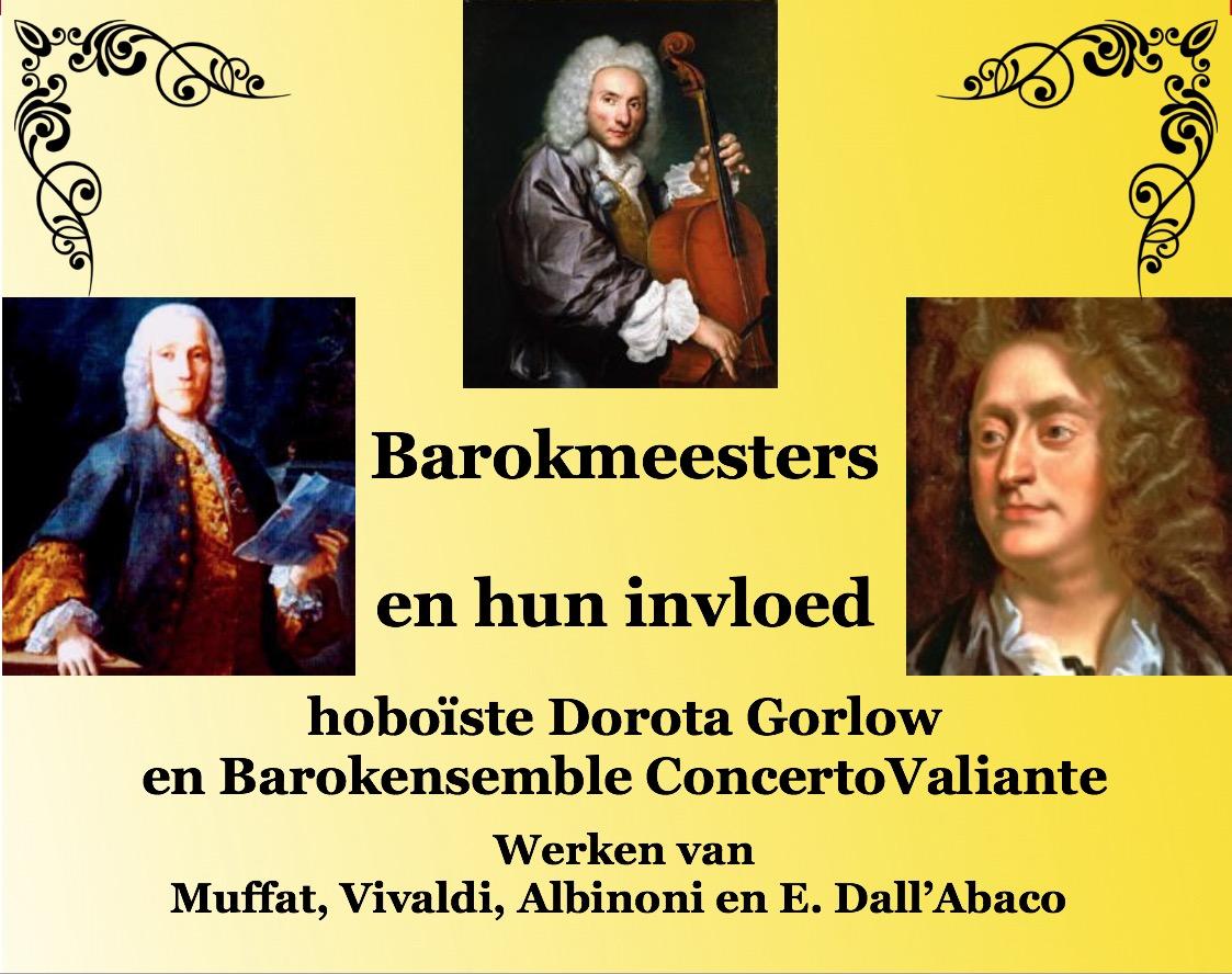Barokmeesters en hun invloeden