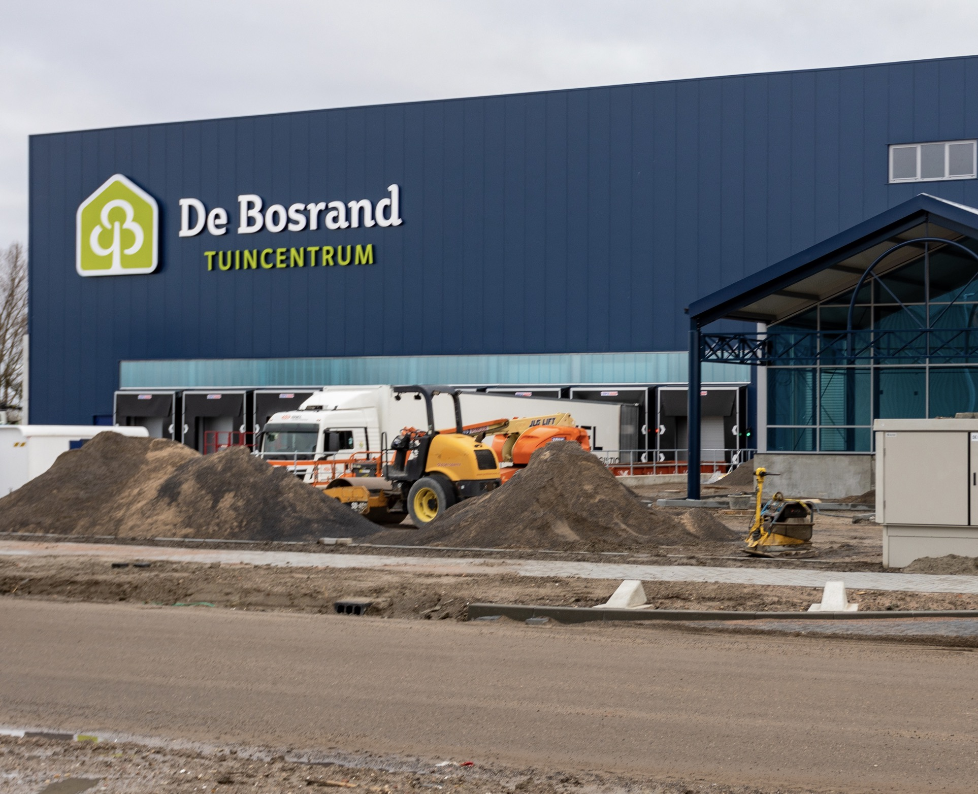 De Bosrand is open