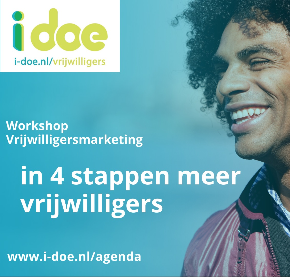 Workshop Vrijwilligersmarketing