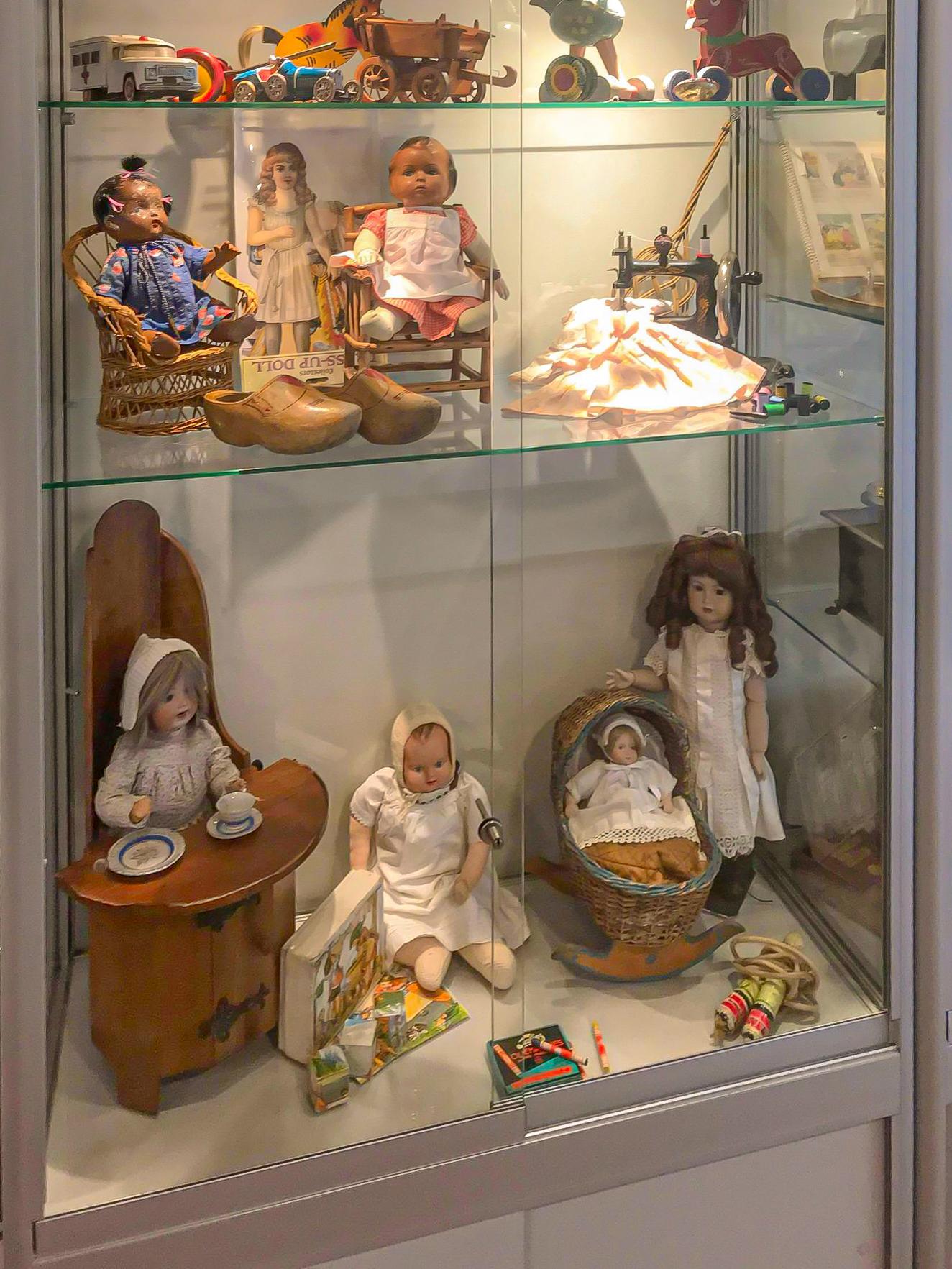 Vitrine Herinneringsmuseum t/m 30-9