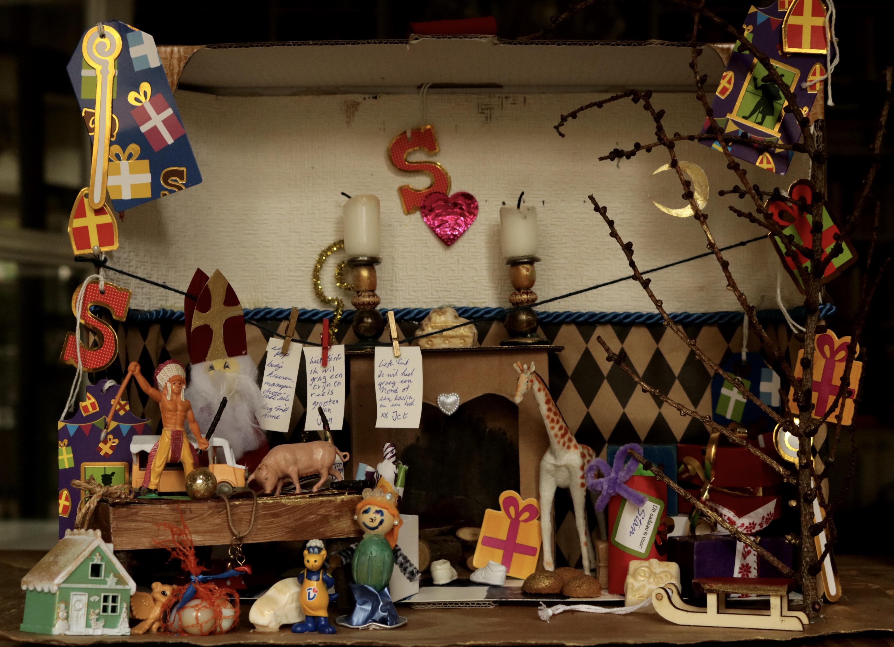 Sinterklaas knutsel workshop