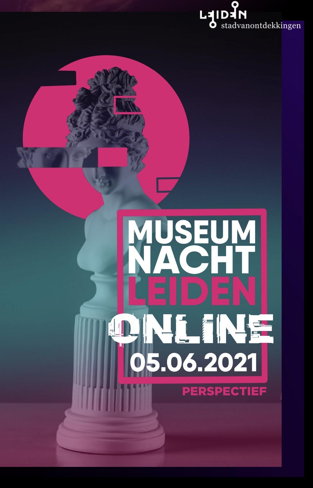 Ticketverkoop online Museumnacht Leiden: museumnachtleiden.nl