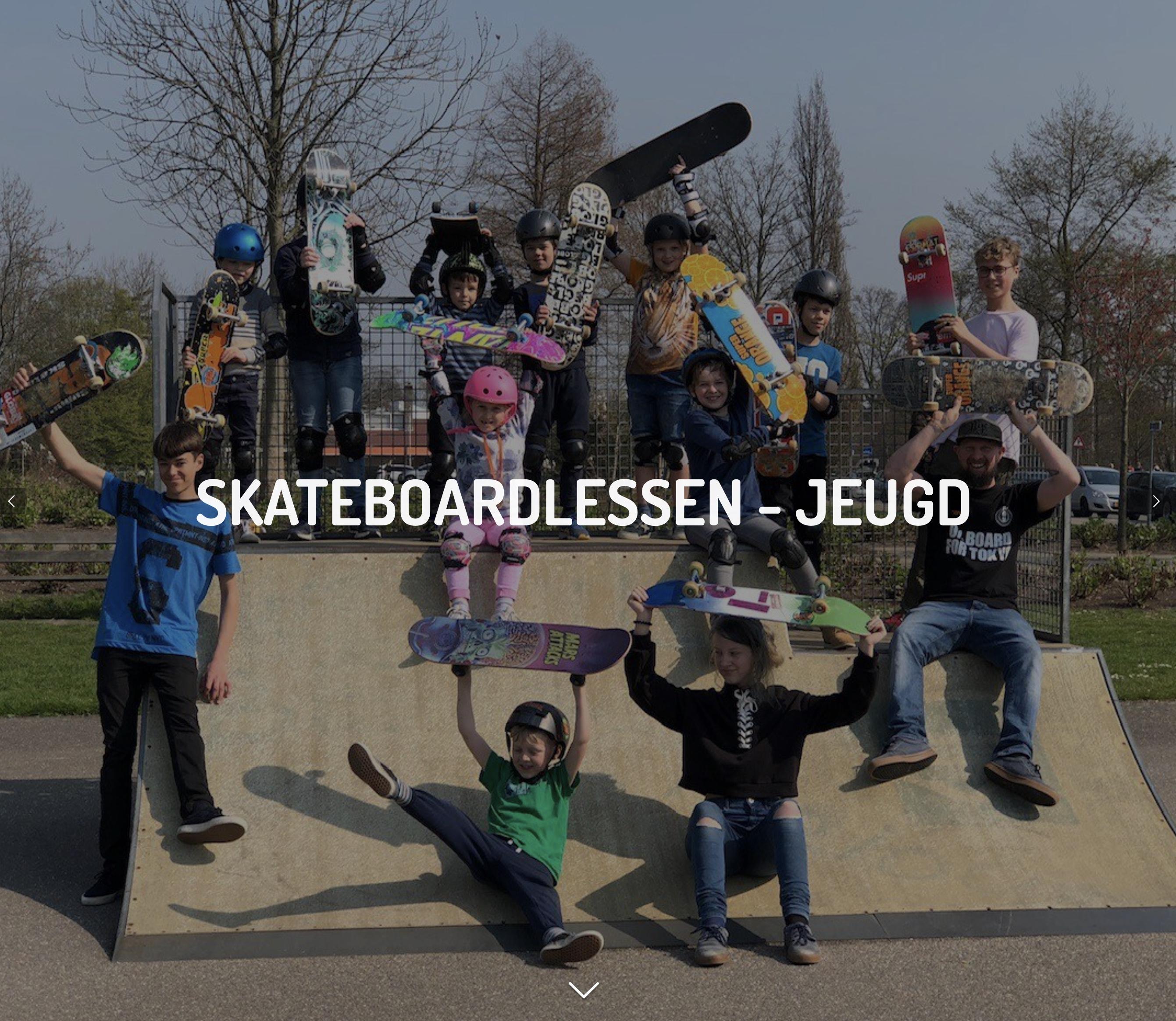 Skateboardlessen - jeugd: www.woodbehero.nl