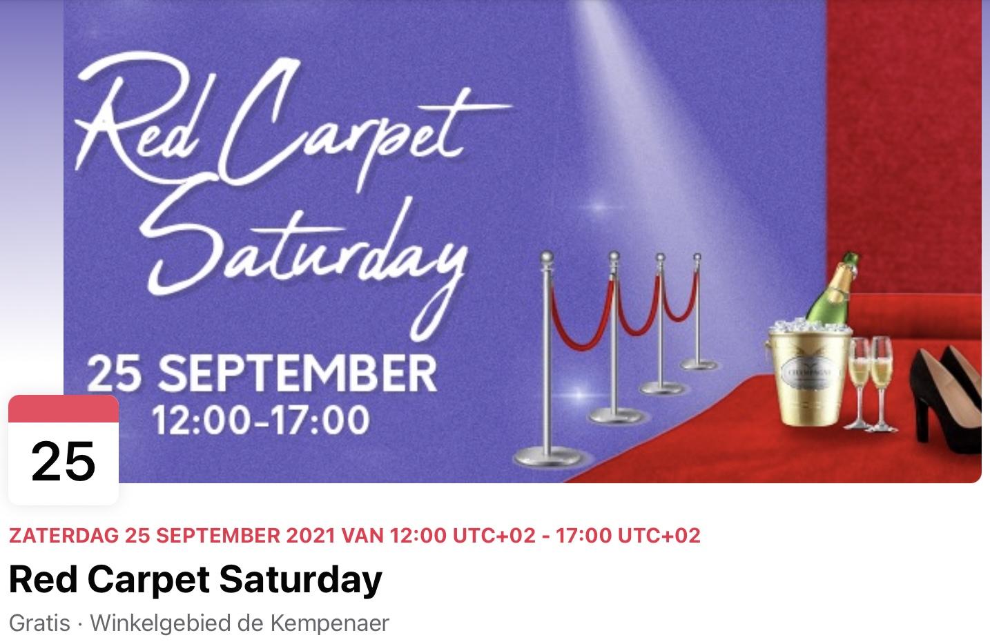 Red Carpet Saturday in De Kempenaer
